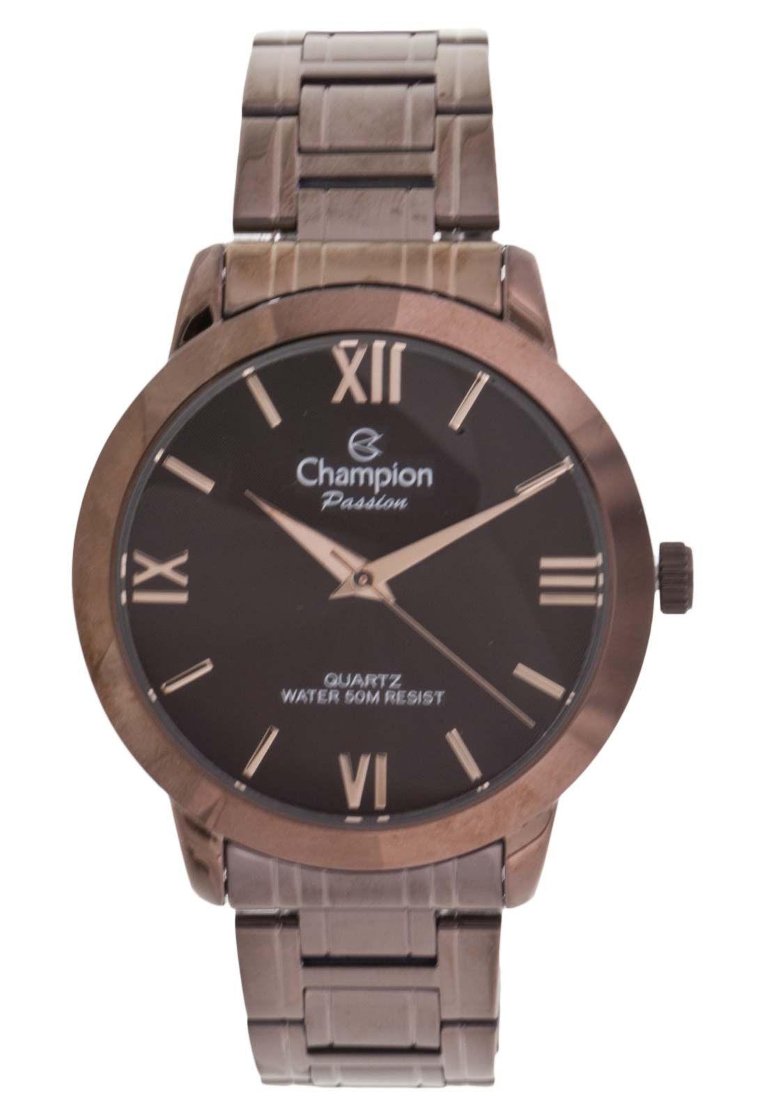 Relógio Champion Feminino CN28704R Marrom