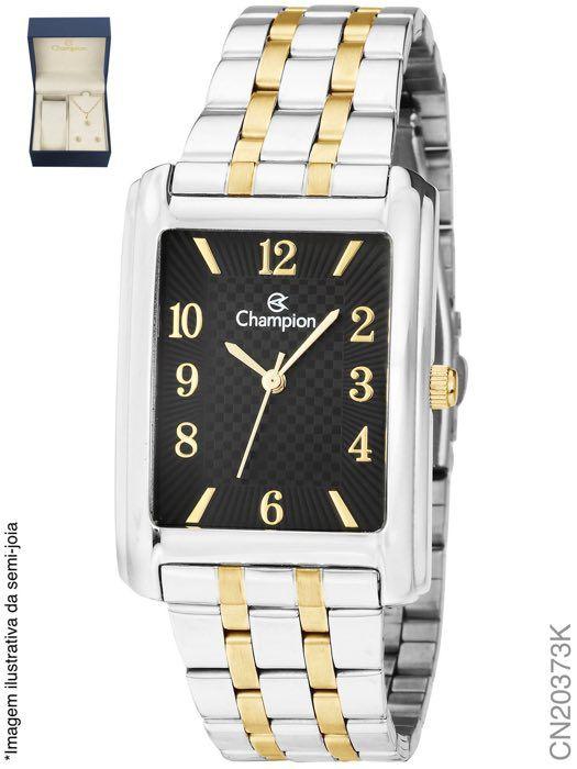 Relógio Champion Feminino + Conjunto Semi Joia CN20373K