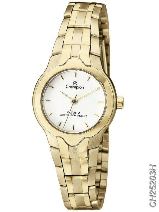 Relógio Champion Feminino Dourado CH25203H