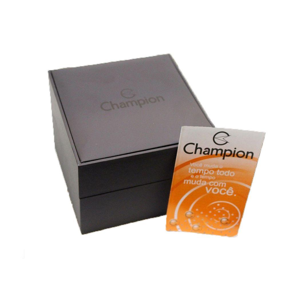 Relógio Champion Feminino Elegance Chocolate CN28437R