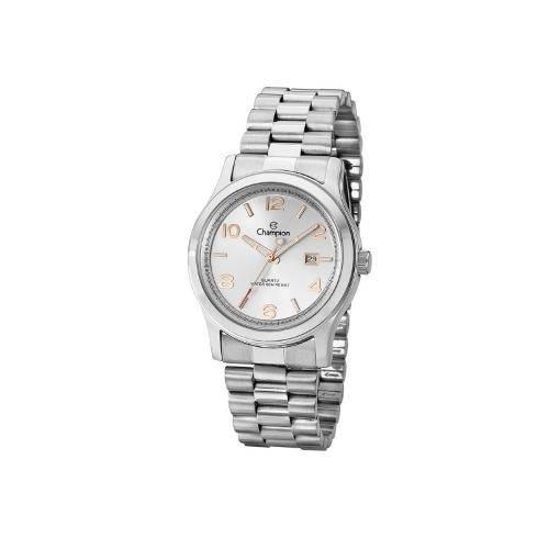 Relógio Champion Feminino Glamour Prata CH24428S