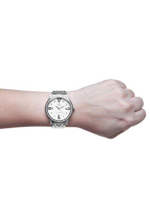 Relógio Champion Feminino Passion Prata CH25927Q