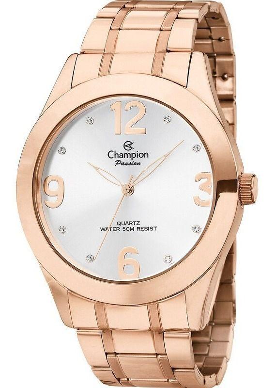 Relógio Champion Feminino Passion Rose Gold - Ch24268z