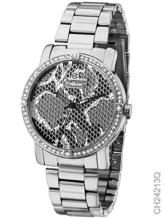Relógio Champion Feminino Prata Ch24213Q