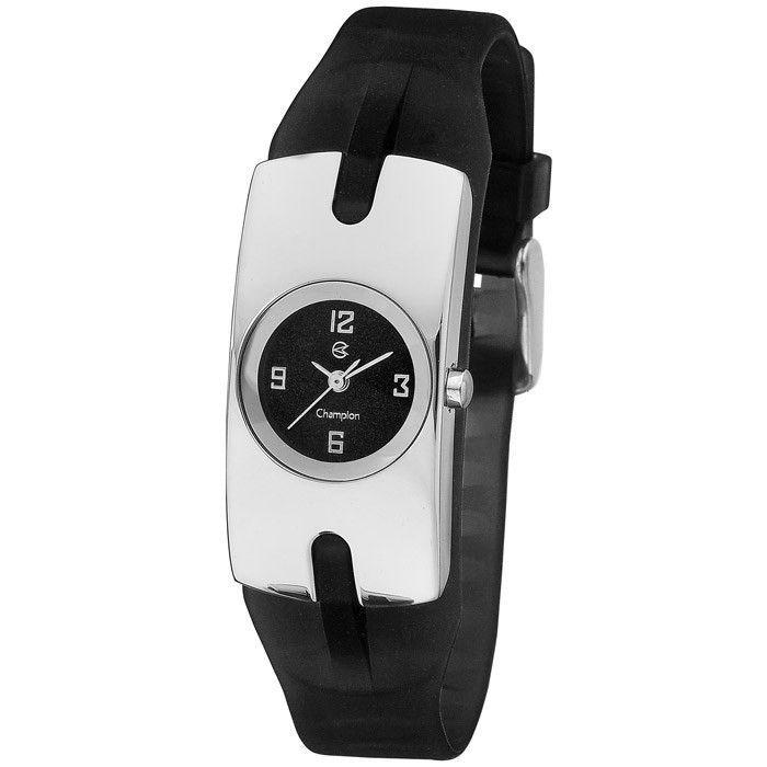 Relógio Champion Feminino Preto CH25570T