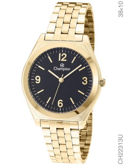 Relógio Champion Feminino Social CH22313U Dourado
