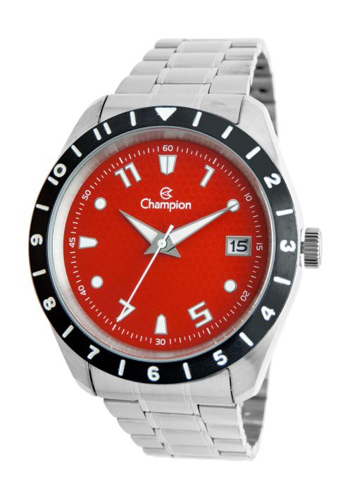 Relógio Champion Masculino Analógico Visor Vermelho CA31499V