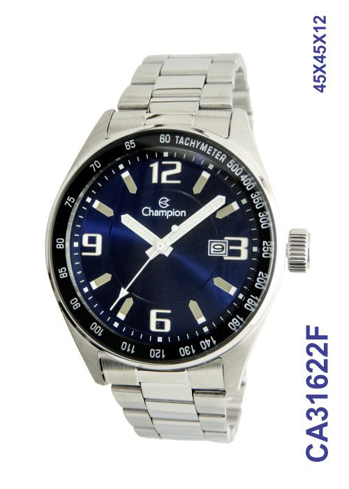 Relógio Champion Masculino Azul Marinho CA31622F