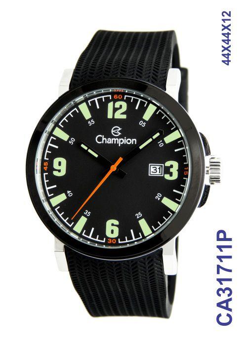 Relógio Champion Masculino CA31711P Esportivo Preto