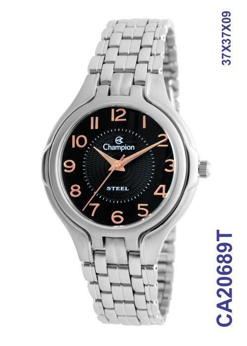 Relógio Champion Masculino Social CA20689T Aço Inoxidável