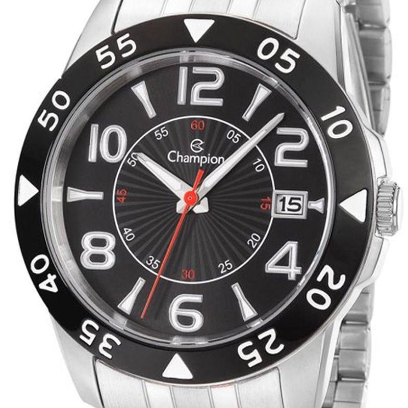 Relógio Champion Masculino Social Prata Ca31257t