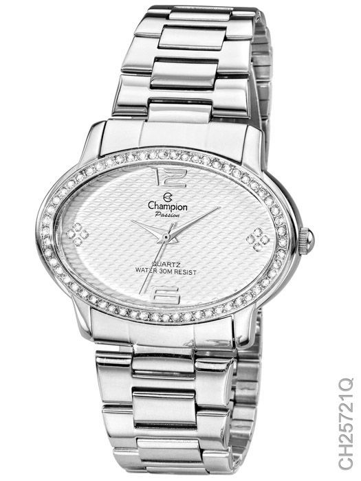 Relógio Champion Passion Feminino Prata CH25721Q