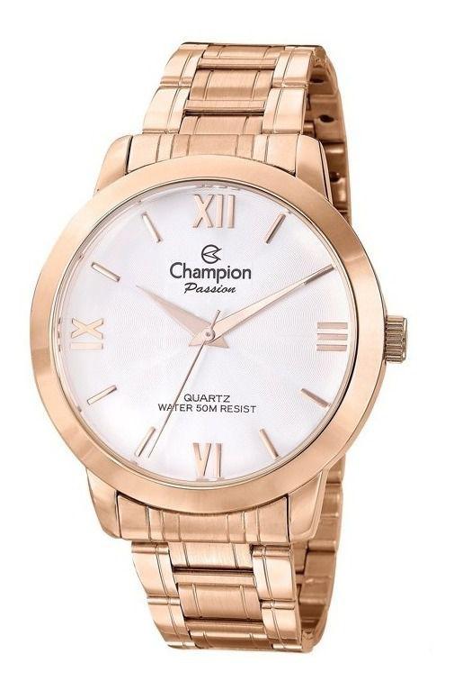 Relógio Champion Passion Feminino Rose CN28704Z