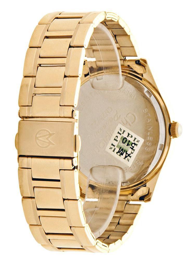 Relógio Champion Social Dourado Feminino Cn28722h