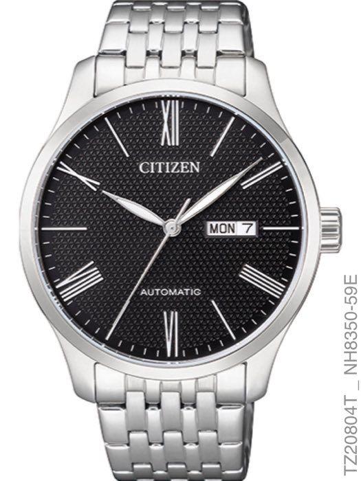 Relógio Citizen Masculino Automático TZ20804T Prata