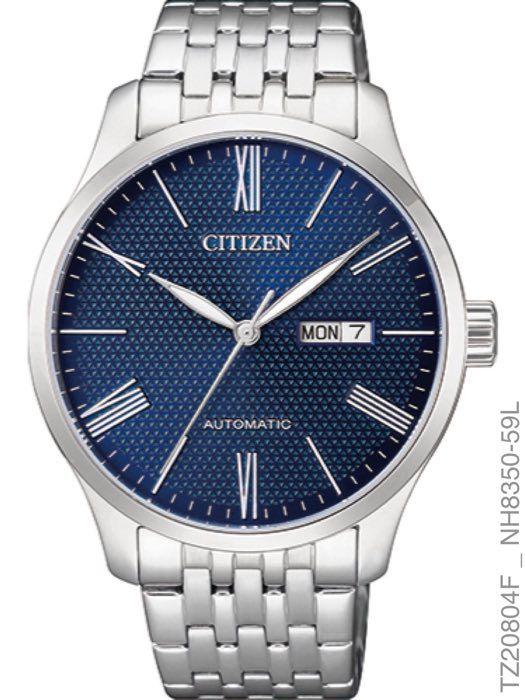 27979e1e5f Relógio Citizen Masculino Luxo TZ20804F Automático Prata - SUPER25