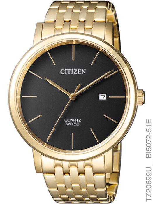 Relógio Citizen TZ20699U Quartz BI5070-57H Dourado