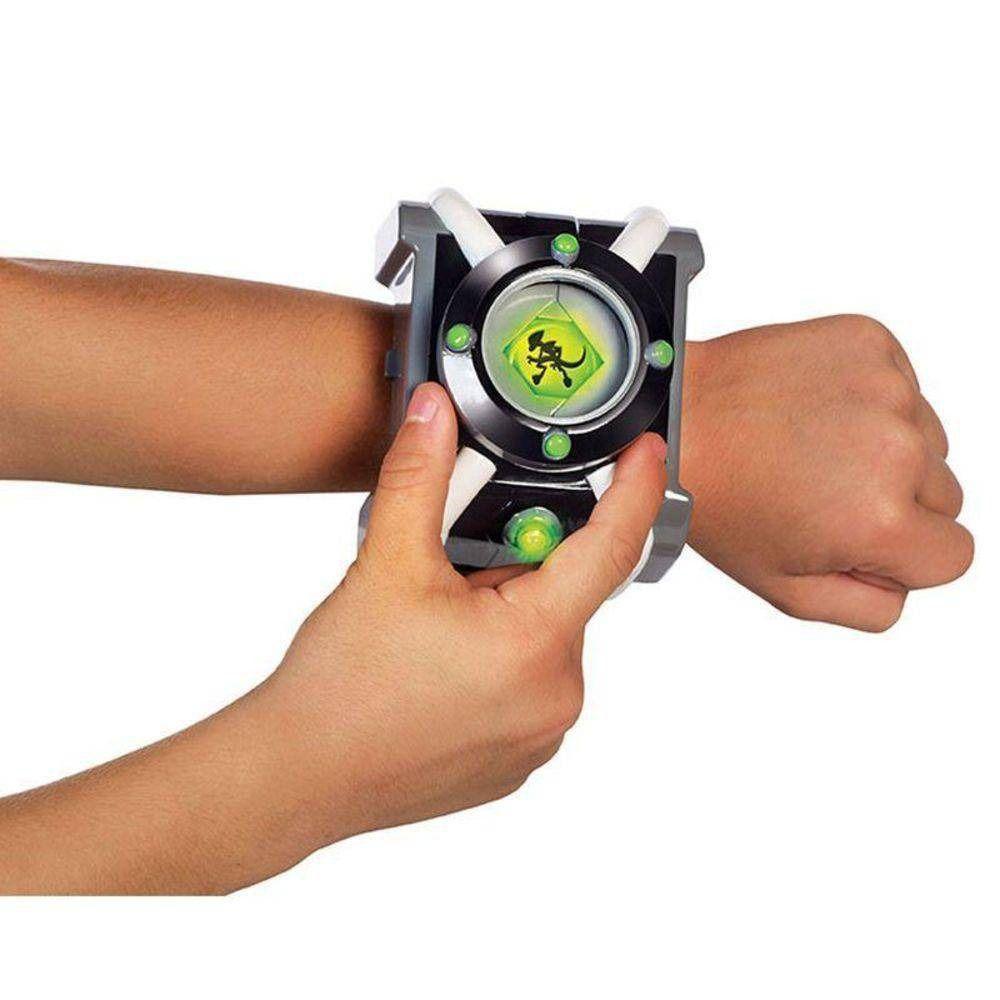 Relógio Com Luzes E Sons Omnitrix De Luxo Ben 10