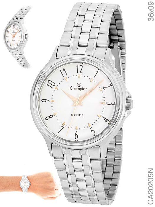 Relógio de Pulso Champion Feminino CA20205N Prata