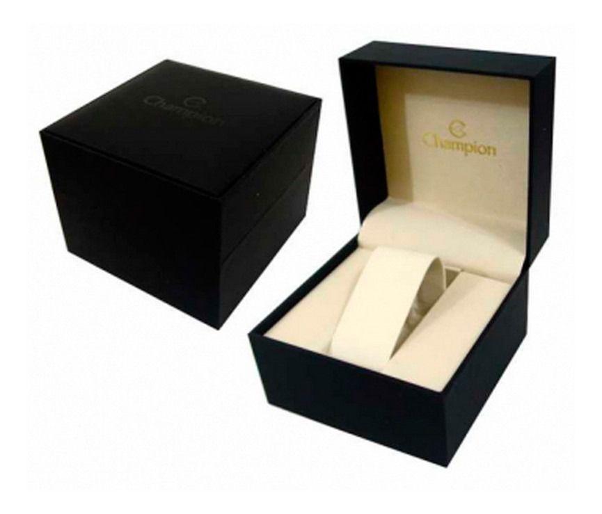 Relógio De Pulso Feminino Champion Original Dourado Ch24777f Garantia TOP