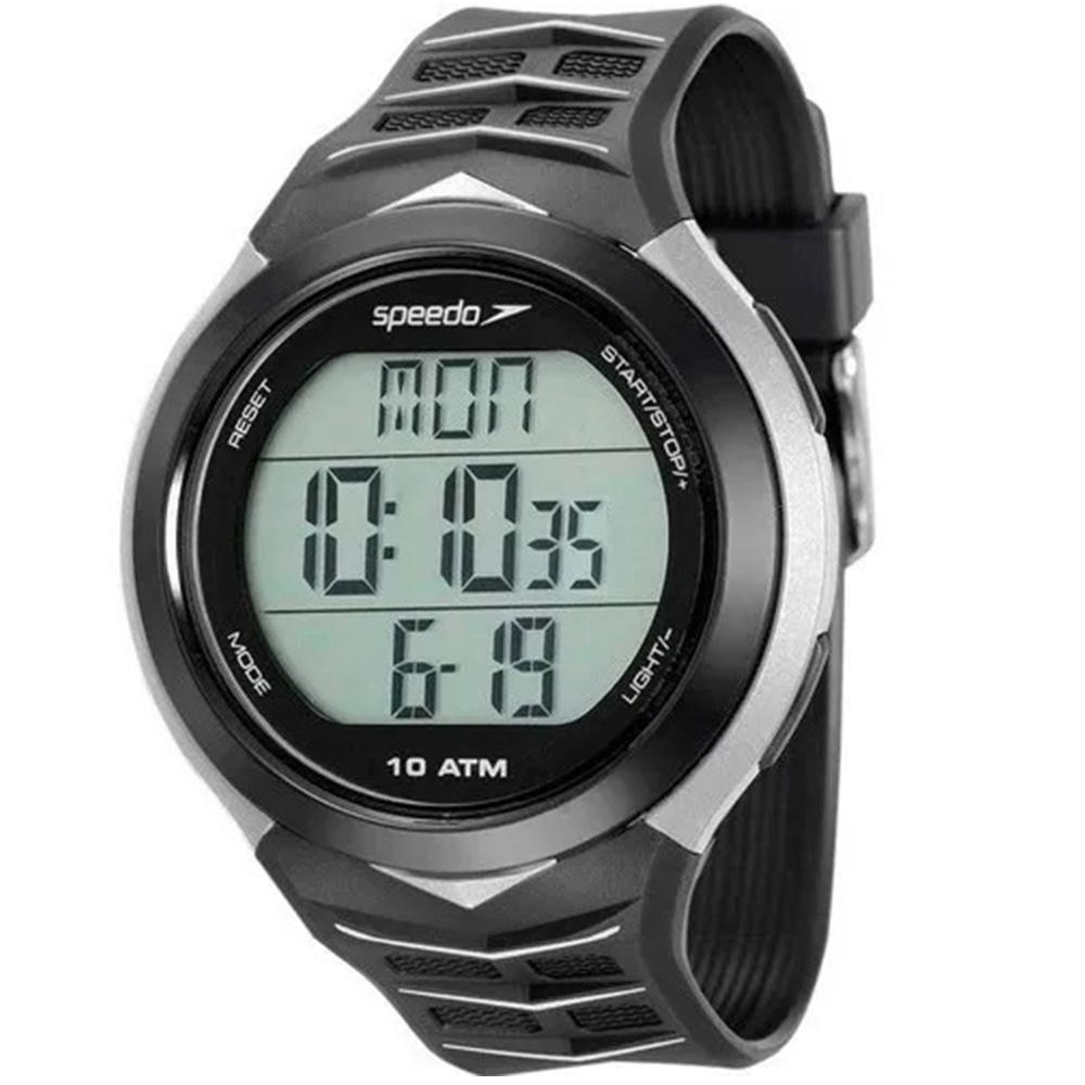 Relógio Digital Speedo Original Para Corrida Monitor Cardíaco