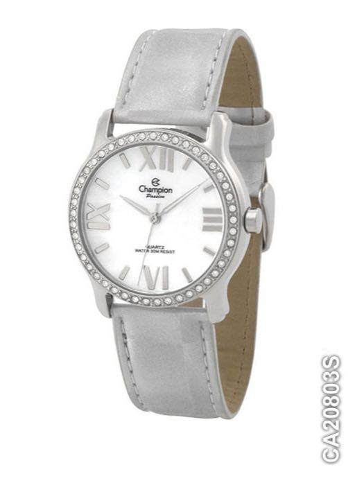 Relógio Feminino Analógico Champion CA20803S Prata