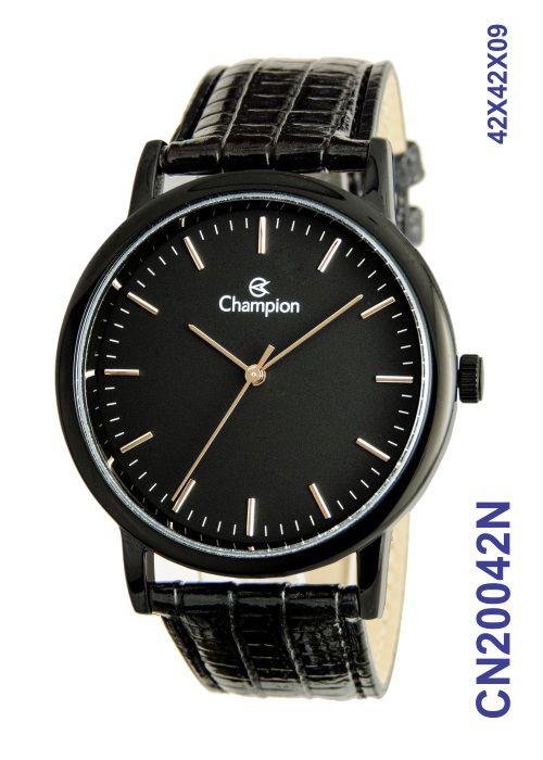 Relógio Feminino Champion Analógico CN20042N Preto