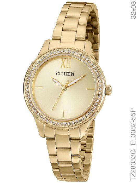 Relógio Feminino Citizen TZ28333G Dourado
