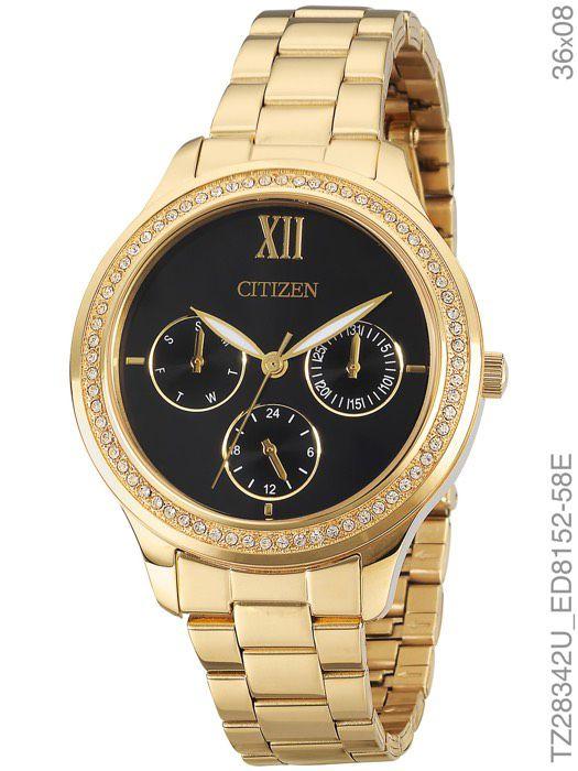 Relógio Feminino Citizen TZ28342U Dourado