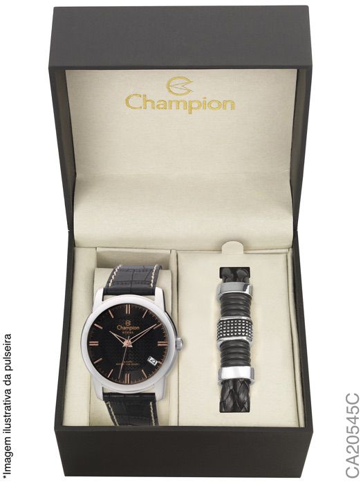 Relógio Masculino Champion Analógico CA20545C + Pulseira