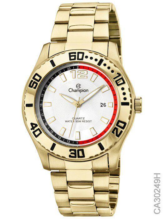 Relógio Masculino Champion Ca30249h Dourado