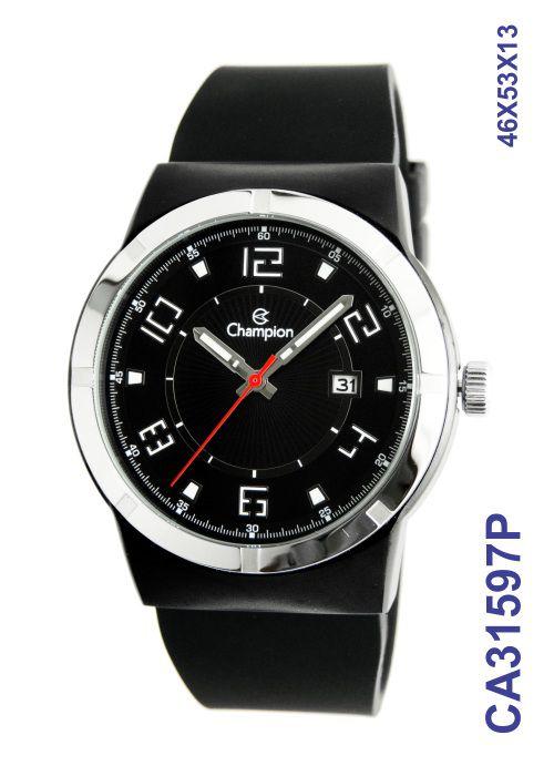 Relógio Masculino Champion CA31597P Preto