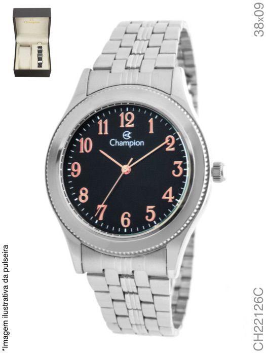 Relógio Masculino Champion CH22126C Prata