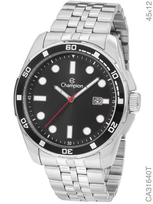 Relógio Masculino Champion Prata CA31640T