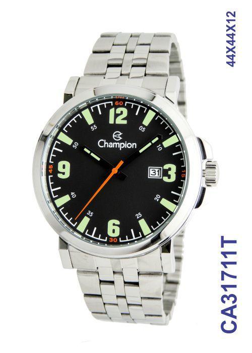 Relógio Masculino Champion Sports CA31711T Fundo Preto