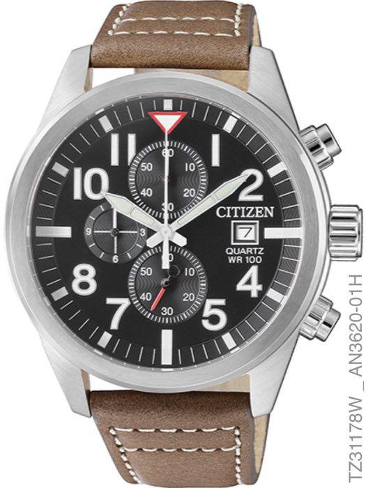 Relógio Masculino Citizen Cronógrafo TZ31178W Quartz