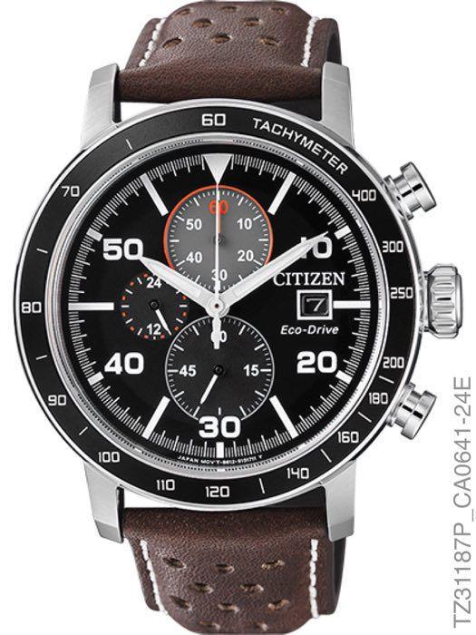 Relógio Masculino Citizen Eco-Drive TZ31187P Cronografo