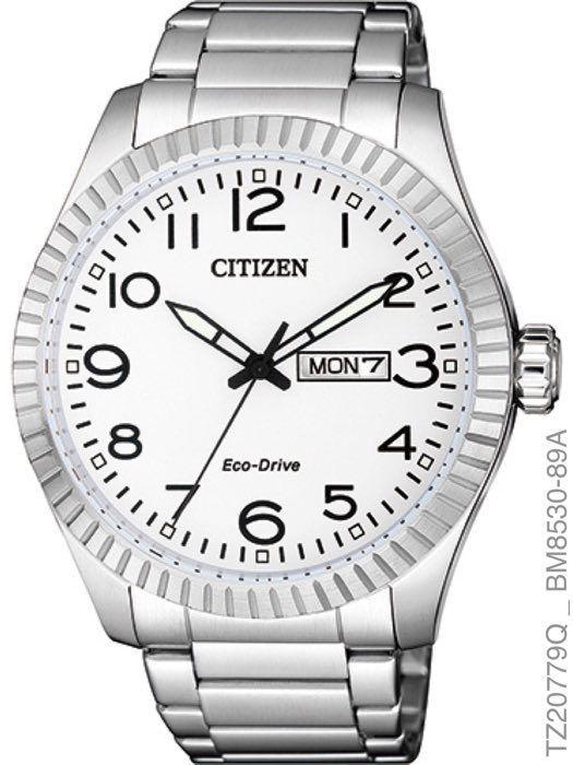 Relógio Masculino Citizen Prata Branco TZ20779Q