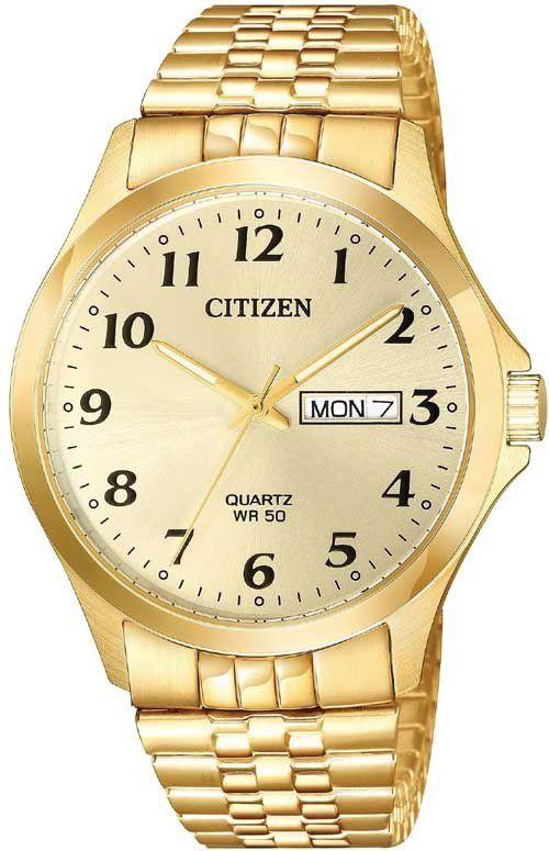Relógio Masculino Citizen TZ20813G Quartz Dourado