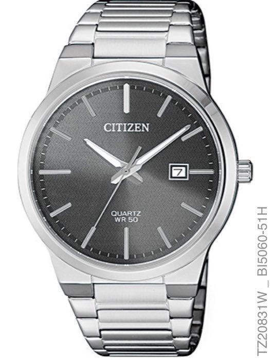 Relógio Masculino Citizen TZ20831W Slim Prata