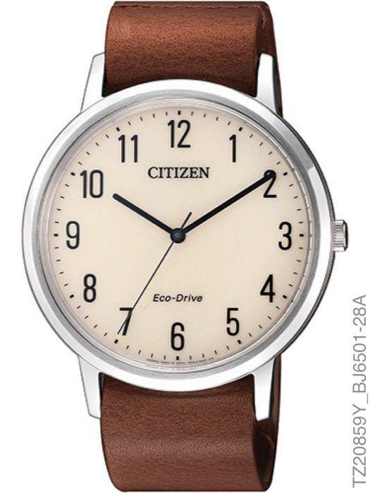 Relógio Masculino Citizen TZ20859Y Eco-Drive Slim