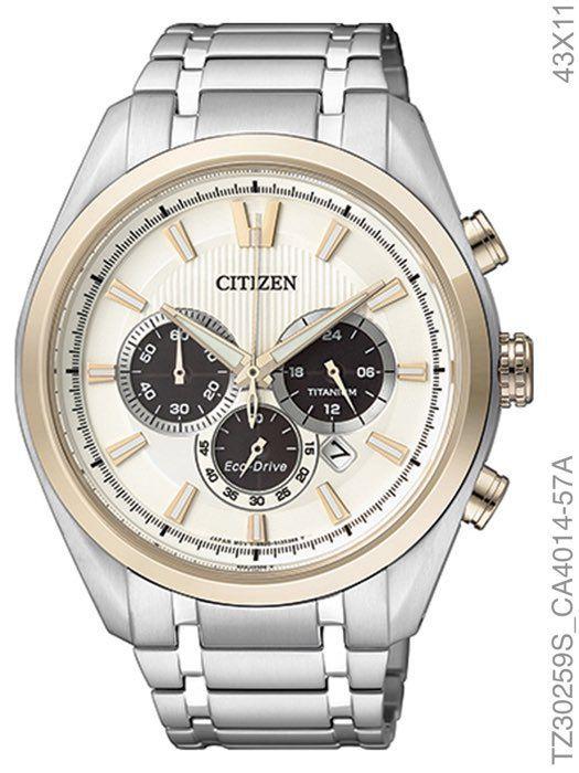 Relógio Masculino Citizen TZ30259S Super Titanium