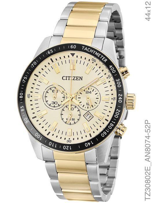 Relógio Masculino Citizen TZ30802E Prata