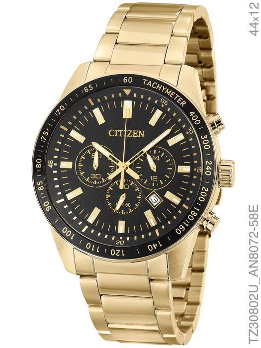 Relógio Masculino Citizen TZ30802U Dourado