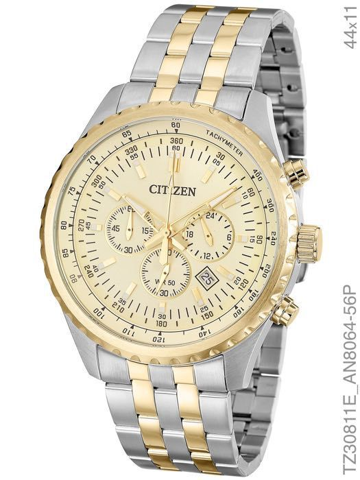 Relógio Masculino Citizen TZ30811E Aço Misto