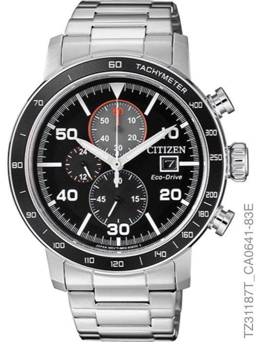 Relógio Masculino Citizen Tz31169t Aço Inoxidável Prata