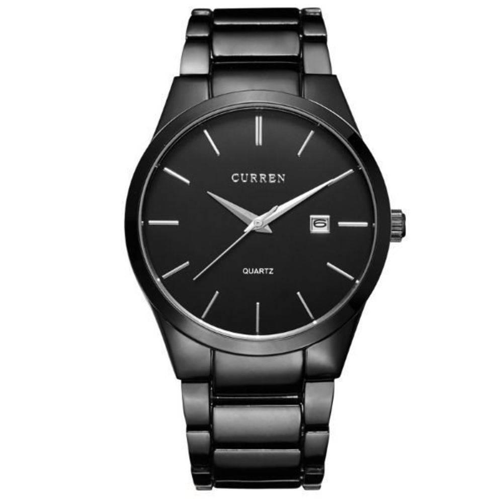 Relógio Masculino Curren Analógico 8106 Preto - DUPL