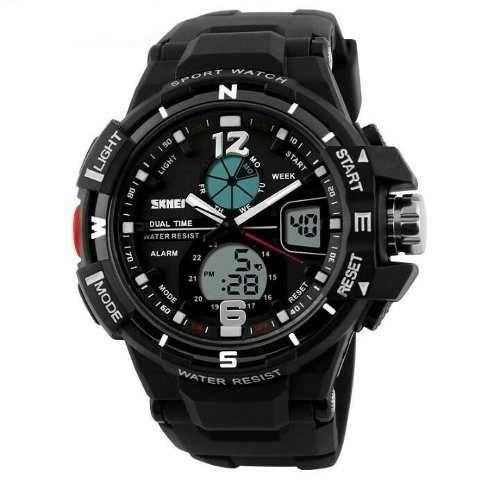 Relógio Masculino Esportivo Digital Analógico Prova D'agua. 1148