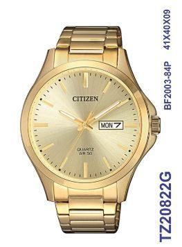Relogio Masculino Luxo Citizen TZ20822G Dourado