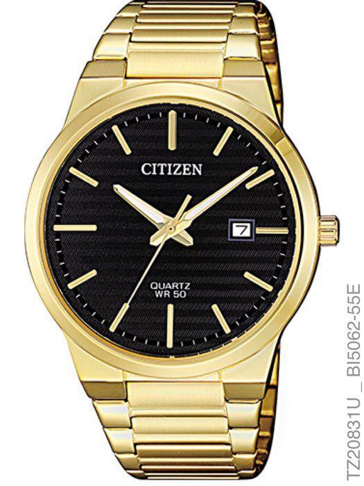 Relogio Masculino Luxo Citizen TZ20831U Dourado